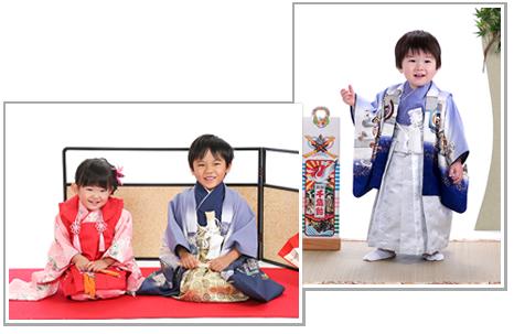 津嶋神社の七五三撮影 写真イメージ